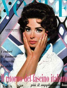 Isabella Rossellini by Steven Meisel Vogue Italia September 1990