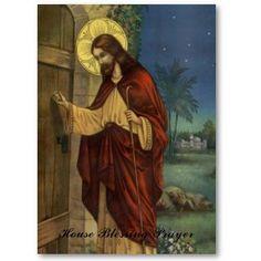 """Bendición de la casa ~ """"Padre Celestial, te pido tu bendición sobre esta casa. En el Nombre de Tu Hijo Jesús, te pido por todos los que habitan aquí para ser liberados del pecado y todas las malas influencias. Protégenos, querido Padre, de la enfermedad, accidentes, robos y todas las tragedias nacionales. Coloco esta casa bajo el señorío de Jesús, y se consagran todos los que viven aquí al Inmaculado corazón de María. que todos los que viven aquí reciben su bendición de paz y amor. Amén"""