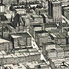Henderson's map of Cincinnati, Ohio (1900)
