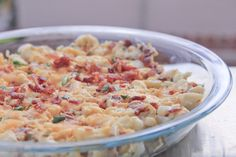 For only 5 net carbs per ample portion, you'll never miss the potatoes in this loaded, baked potato salad, but you might wish you made a triple batch.