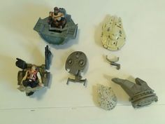 Star Wars Miscellaneous parts lot han solo millenium falcon | Collectibles, Science Fiction & Horror, Star Wars | eBay!