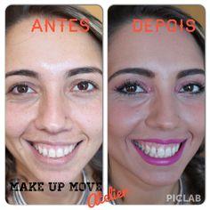 Make UP de Festa # Antes e Depois