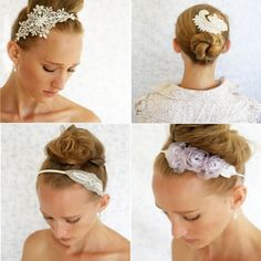 Best Fashionable Hair Accessories For Bride on Wedding