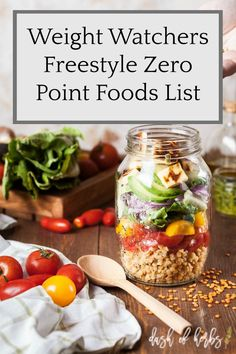 Looking for a quick guide to the new Weight Watchers Freestyle Zero point foods list? Look no further to the new updates to the program and how they could a