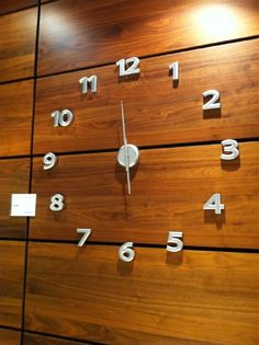 cool clock at BoConcept