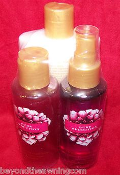 Victoria's Secret PURE SEDUCTION Body Wash Lotion & Mist SET NEW #eBay