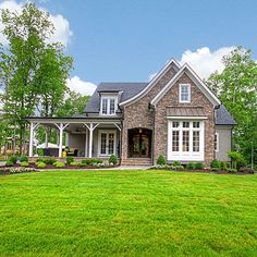 Creative Home Concepts Exterior - Custom Builder Showcase Homes Span the South - Southern Living