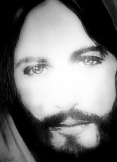 Behold i stand at the door and knock if anyone hears my voice and realistic religious pencil drawings face of jesus drawing by susan solak face of jesus altavistaventures Gallery