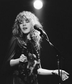 Stevie Nicks-been a fan since I was 6 years old! Some 40 years ago.  She is one hell of a lady rocker.  Love her!