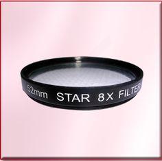 Camera filter star 8x