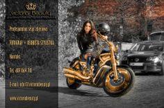 Sukienka MOHITO, sesja motocyklowa