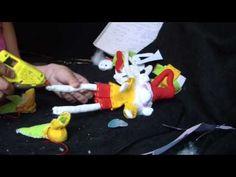 Muñecos Soft....duende navidad facil 2/2....proyecto 43