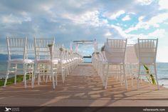 #VelasVallarta, giving you more ways to celebrate in style. #Weddings #PuertoVallarta #Settings #Aisle