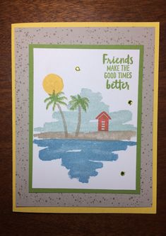 Posts for paper crafting, card making, and scrapbooking using Stampin Up! products.