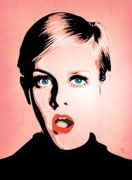 Image result for twiggy mixed media