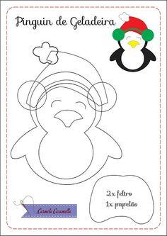 Risultati immagini per molde natal em feltro Felt Christmas Decorations, Felt Christmas Ornaments, Kids Christmas, Christmas Crafts, Felt Ornaments Patterns, Felt Crafts Patterns, Fall Sewing, Christmas Templates, Paper Piecing