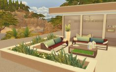 Modern House - The Sims 4 - Download