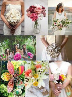 #Handmade #Wedding #Bouquets Mood Board from The Wedding Community