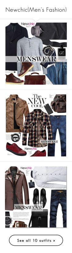 """Newchic(Men's Fashion)"" by cly88 ❤ liked on Polyvore featuring Paul Smith, Levi's, Alberto Bellucci, Vince, Giorgio Armani, menswear, MensFashion, Lanvin, Forever 21 and Michael Kors"