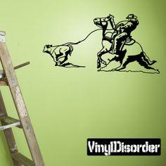 Rodeo Wall Decal - Vinyl Sticker - Car Sticker - Die Cut Sticker - CD026