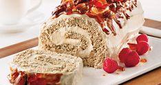 Recette: La Bûche de Noël Parfaite - Circulaire en ligne Xmas Desserts, Fancy Desserts, Cake Roll Recipes, Cooking Recipes, Healthy Recipes, All Things Christmas, Caramel, Fondant, Deserts