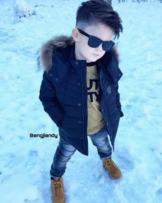 Not the coat but the rest is great Toddler Boy Fashion, Little Boy Fashion, Fashion Kids, Toddler Boy Haircuts, Little Boy Haircuts, Little Boy Outfits, Baby Boy Outfits, Outfits Niños, Kids Outfits