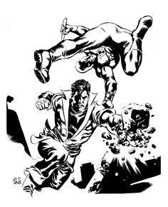 Karate Kid vs. Daredevil