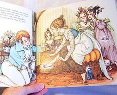 Vintage Hilary Knight's Cinderella Book by MantuaMakerPatterns, $10.00