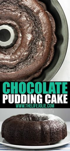 This quick and easy Chocolate Pudding Cake recipe is a delicious cake mix hack! There are only five simple ingredients and the result is the most perfectly moist cake you'll ever taste. This is an awesome last-minute dessert to throw together and it's so good that people will have no idea it's from a box! via @thelifejolie