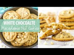 These White Chocolate Macadamia Nut Cookies have soft and chewy centers with lightly crisp edges! They are loaded to the max! White Chocolate Macadamia, White Chocolate Chips, Macadamia Nut Cookies, Soft Chocolate Chip Cookies, Food Scale, Oatmeal Recipes, Cooking Recipes, Favorite Recipes, Desserts