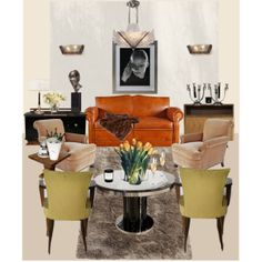 Art Living Room Sets Art Deco Polyvore French Style Living Rooms Deco
