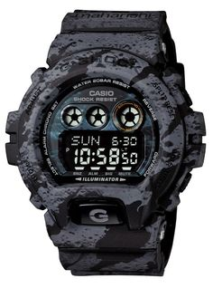 """G-SHOCK x Maharishi """"DPM: Lunar Bonsai"""" - for those who seeks alternative camouflage - how about camo in likeness of the moon surface? Casio G-shock, Casio Watch, Casio G Shock Watches, Sport Watches, Cool Watches, Big Watches, Casio Vintage, Vintage Watches For Men, Patek Philippe"""