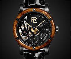 Ralph Lauren RL Automotive Skeleton Watch
