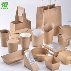 Disposable Eco-friendly Packaging Takeaway Biodegradable Printed Paper Fast Food Box Packaging Pouch Lunch Box - Buy Food Pack Carton Box's,Fast Food Packaging,Paper Fast Food Packaging Product on Alibaba.com Food Design, Food Truck Design, Takeaway Packaging, Food Packaging Design, Salad Packaging, Sandwich Packaging, Packaging Ideas, Bakery Packaging, Food Truck Business