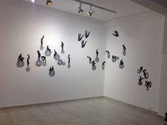 Lita Mora en Saida Art Contemporain, Tetouan, Maroc