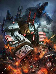 Autobot Metroplex Artwork From Transformers Legends Game