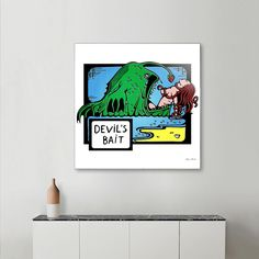 Discover «Devil's Bait», Numbered Edition Acrylic Glass Print by Max Movko - From $75 - Curioos