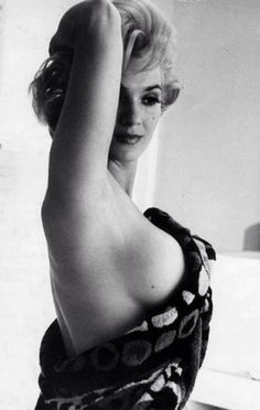 Marilyn Monroe by Henri Cartier-Bresson