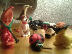 My plasticine -animal- family (2012)