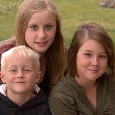 Beautiful nieces (Rebekah and Sarah) and nephew (Samuel).