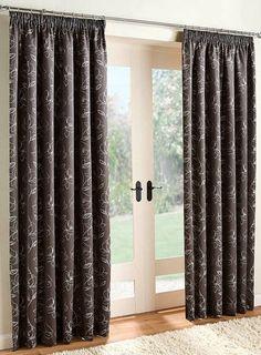 Felicity Curtain- Charcoal