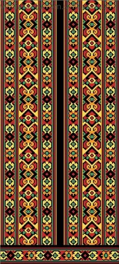 гуцульська вишивка схеми - Пошук Google Cross Stitch Borders, Cross Stitch Patterns, Mosaic Patterns, Quilt Patterns, Cross Stitch Embroidery, Embroidery Patterns, Borders And Frames, Chart Design, Embroidery Techniques