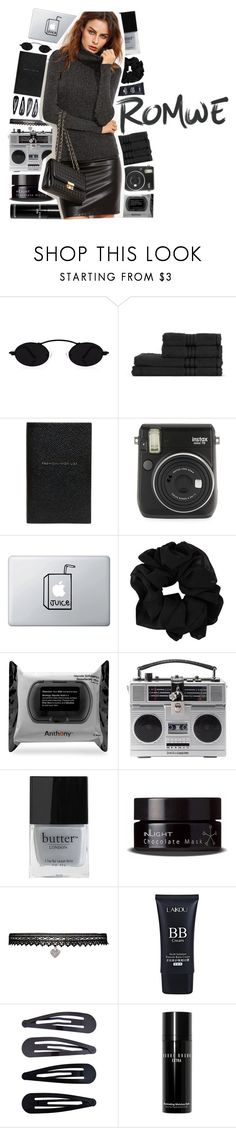 """Romwe contest"" by puhizaxox ❤ liked on Polyvore featuring Smythson, Fuji, Anthony, Dolce&Gabbana, Butter London, Inlight Skincare, Betsey Johnson, Accessorize, Bobbi Brown Cosmetics and romwe"