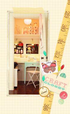 craft closet.