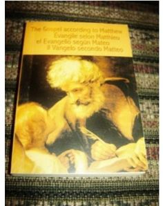 The Gospel of Matthew in Four Languages / English French Spanish Italian / Ev. What Is Bible, Buy Bible, World Languages, Finding God, Word Of God, Spanish, English, Words, Prints