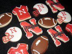 Nebraska Husker Cookies