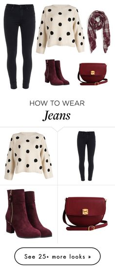 """""""Winter Casual Outfit"""" by alina-w on Polyvore featuring Sole Society, Paige Denim, The Code, women's clothing, women's fashion, women, female, woman, misses and juniors"""