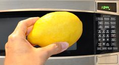With a lemon as your weapon, you can take on all the grime your microwave can dish out.