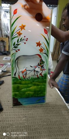 House Main Door Design, Wooden Main Door Design, Pooja Room Door Design, Interior Design Living Room, Glass Etching Designs, Glass Painting Designs, Glass Wall Art, Stained Glass Art, Ceiling Design