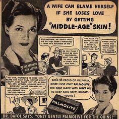 Tampones, compresas y otros anuncios incomprensibles.